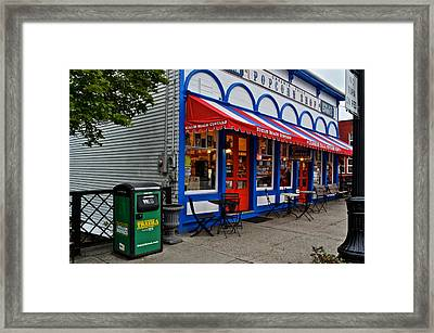 Small Town Charm Framed Print by Frozen in Time Fine Art Photography
