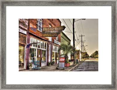 Small Town U. S. A. Framed Print