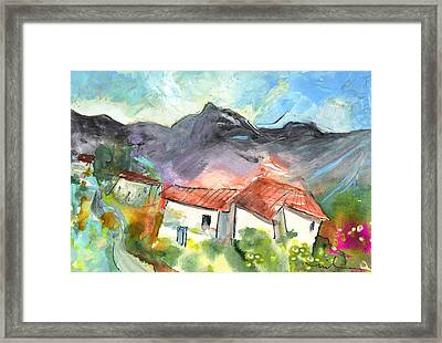Small Village In The South Of France Framed Print by Miki De Goodaboom