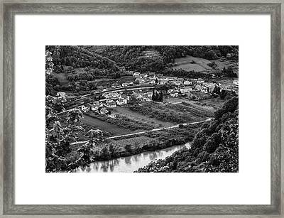 Small Village Framed Print by Oleksandr Maistrenko
