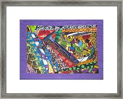 Small Wonder Framed Print by Aisha Lumumba