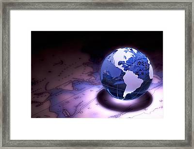 Small World Still Life Framed Print