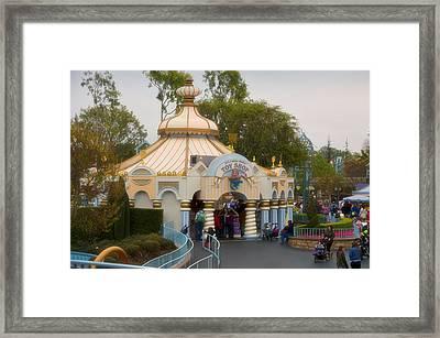 Small World Toy Shop Fantasyland Disneyland Framed Print by Thomas Woolworth