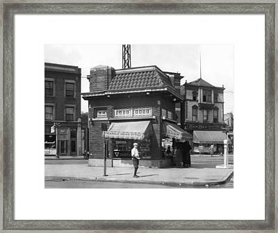 Smallest Store In The World Framed Print
