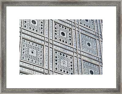 Smart Windows Framed Print by Gary Eason