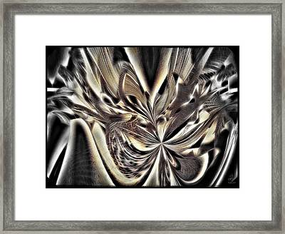 Smash And Grab Framed Print by Pennie  McCracken