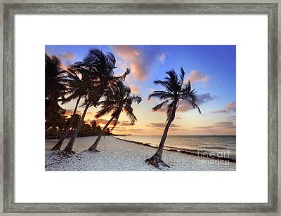 Smathers Beach 1 Framed Print by Rod McLean