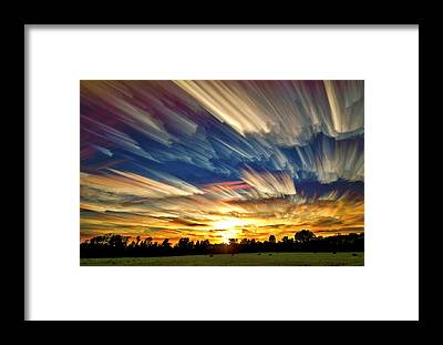 Sky Line Framed Prints