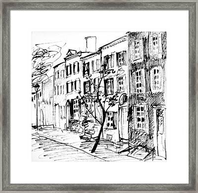 Smedley Street Framed Print
