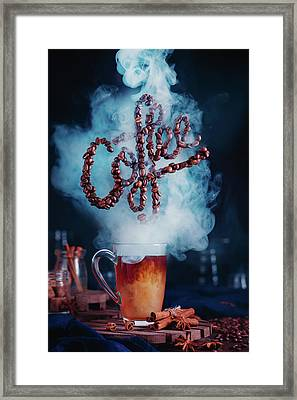 Smell The Coffee Framed Print