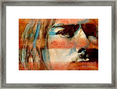 Smells Like Teen Spirit Framed Print