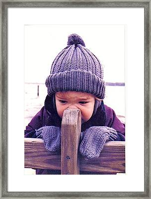 Smells Like Wood Framed Print by James McAdams
