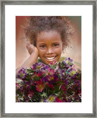 Smile 2 Framed Print by Kume Bryant