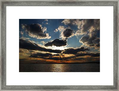 Smile Framed Print by Andrea Galiffi