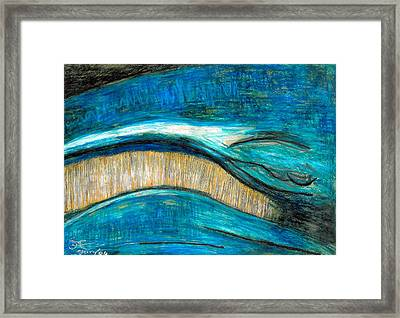 Smile Framed Print by Carla Sa Fernandes