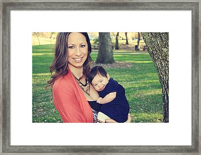 Smile Framed Print by Laurie Search