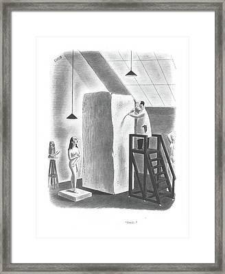 Smile Framed Print by Richard Taylor