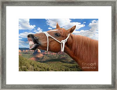Smile When You Say That Framed Print by Gary Keesler