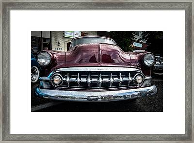 Smile Wide Framed Print by Ronda Broatch