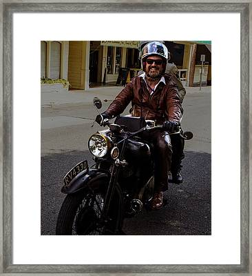 Smiling Into Cape Girardeau Framed Print