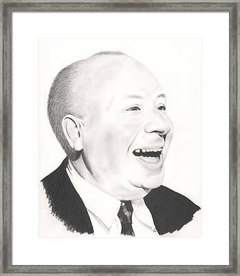 Smiling Psycho Framed Print by Stephen Brissette
