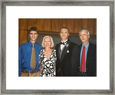 Smith Family Portrait Framed Print