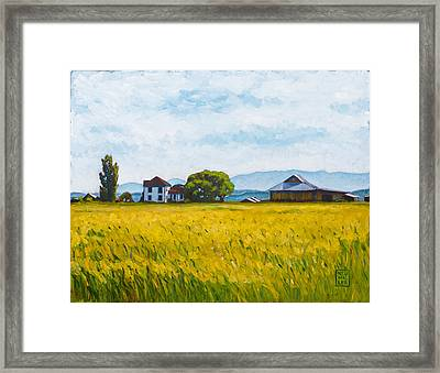 Smith Farm Framed Print