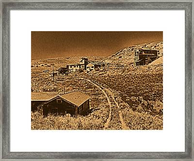 Smith Mine Framed Print by Leland D Howard