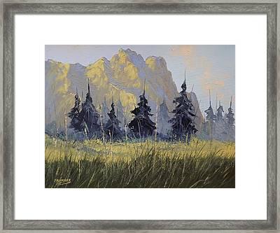 Smith Rock Oregon Framed Print