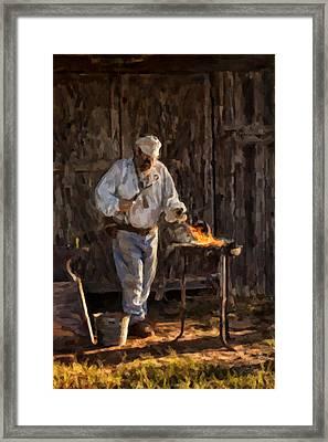 Smithie Framed Print