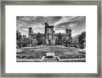 Smithsonian Castle Framed Print by Dado Molina