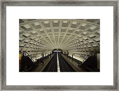 Smithsonian Station Framed Print