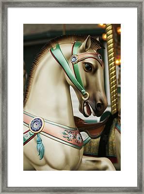 Smithville Carousel Horse I Framed Print