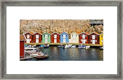 Smoegen Sweden Framed Print by Lutz Baar