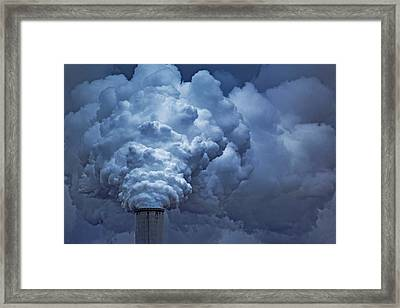 Smoke Billows Framed Print