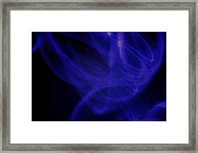 Smoke I Framed Print by Aya Murrells