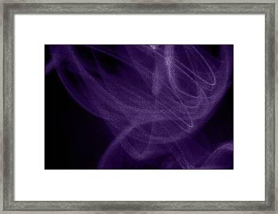 Smoke II Framed Print by Aya Murrells