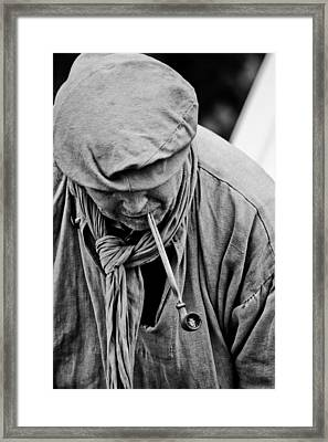 Smoke II  Framed Print by Off The Beaten Path Photography - Andrew Alexander