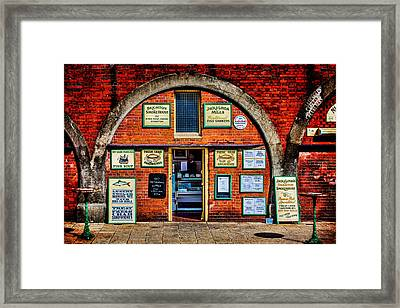 Smoke Me  A Kipper And I'll Be Back For Breakfast Framed Print by Chris Lord