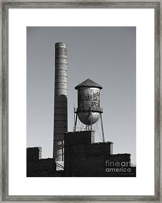 Smoke On The Water Framed Print by Colleen Kammerer