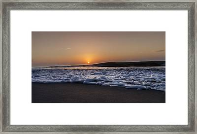 Smoke On The Water Framed Print by  Island Sunrise and Sunsets Pieter Jordaan
