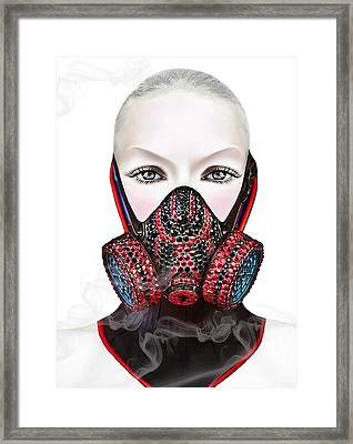 Smoke Framed Print by Yosi Cupano