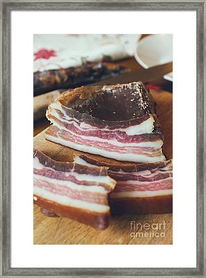 Smoked Bacon  Framed Print