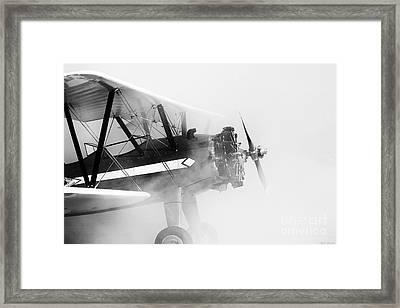 Smoked Engine Framed Print by Mkaz Photography