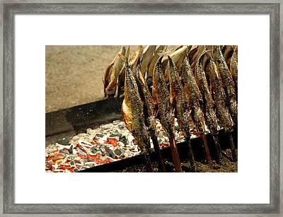 Smoked Mackerel Framed Print