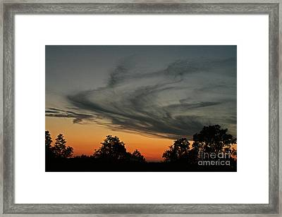 Smokescreen  Framed Print