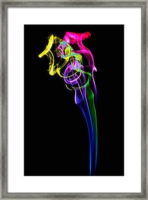 Smokeworks Framed Print by Okan YILMAZ