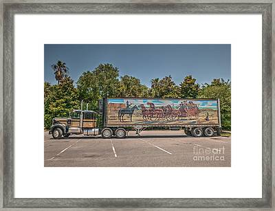 Smokey And The Bandit Framed Print