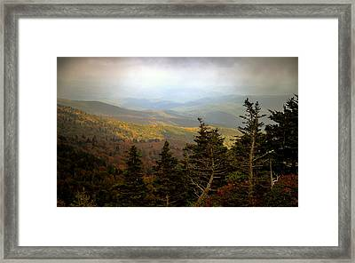 Smokey Mountain High Framed Print by Karen Wiles