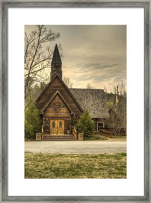 Smokey Mountain Love Chapel 2 Framed Print